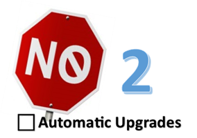 Let's Say 'No' to Automatic Sustainer Upgrades