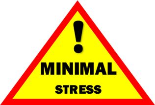 Warning: Minimal Stress Involved